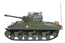 HENG LONG RC Tank Sherman M4A3 21cm 1:30, khaki