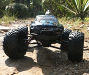 RC OFF-ROAD MONSTER TRUCK 33cm, 40km/hod, modrá