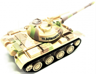 RC Tank Attack Power 1:72 Hnědá