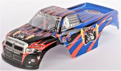 Kabina Pro RC Monster Truck Super Racing 1:10, modrá